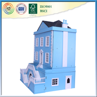 House design in nepal with wooden doll small houses