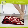 China durable unique non slip bathroom floor mat