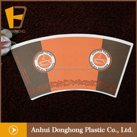 wood pulp PE coated paper cup raw material in roll/sheet