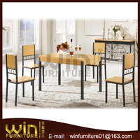 120cm long dining table and 4 chairs set