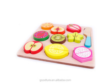 9 Fruits Cutting Set Wooden Toy