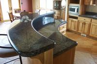high quality absolute black granite edging