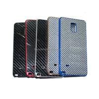 Mobile for samsung galaxy note 4 case/Surplus Wind Aluminum Carbon Fiber Cover