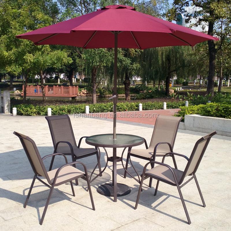 6 pe a ao ar livre mobili rio de jardim do p tio de vidro for Mobiliario de patio