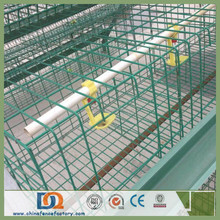 90/96 Birds 3 Tier Wire Mesh Hen Cage for Kenya Farm