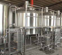 2500L brewery plant lager and ale brewery machine beer brewing system
