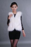wholesale new style fox fur vest women TT4