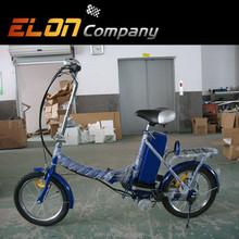 steel frame folding electric vehicle