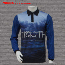 Long sleeve fishing clothing and shirts