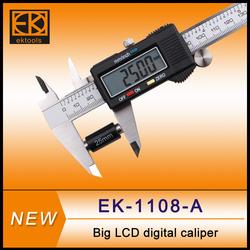 LCD Screen Digital Caliper with long jaw, Measure Range: 150 mm (6 inch)