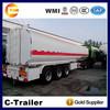 40000L 3 Axle Oil Tanker Semitrailer With 5 compartment