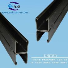 Astm A36 acero canal C strut / ASTM A36 suave C purlin / ASTM A36 de acero al carbono unistrut