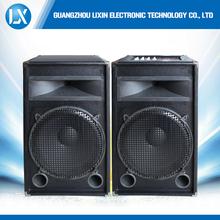 Single 15 inch active speaker with bluetooth remote control FM radio
