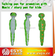 Provide story talking pen with custom message
