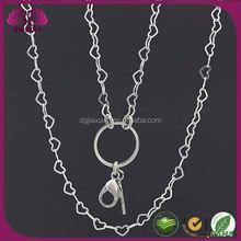 Nuevos productos 2016 plata del acero inoxidable de la mujer y accesorios