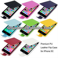 Flip PU Leather Case Cover for Apple iPhone 5 5S
