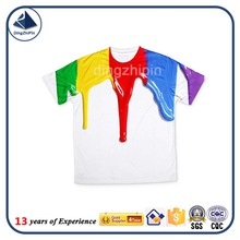 print brand t shirts Unisex Cotton Casual Shirt White Top Tees men's clothing