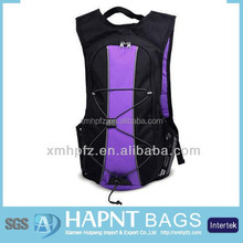 2015 High Quality Purple Polyester Hydration Pack Bag Manufacturer /Sports Bag(Manufacturer in Quanzhou)