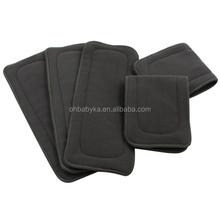 Ohbabyka brand Fast dry Soft top quality charcoal bamboo diaper inserts