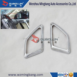Exterior Accessories High quality for 2014 Toyota Land Cruiser Prado ABS chrome Car loudspeaker Speaker Box cover