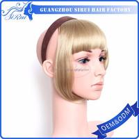 Heat resistant kanekalon fringes synthetic hair bangs, synthetic hair wholesale, synthetic hair updo
