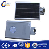 Cost- effective energy saving waterproof outdoor high power integrated solar street lamp with 5 years warranty