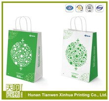 High printing customized decorative paper lunch bags