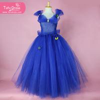 Kids Formal Dress cinderella dresses for girls High Quality Evening Cinderella Dress for little Girls