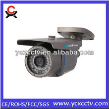 IR bullet cctv camera factory security system inspecting the whole factory
