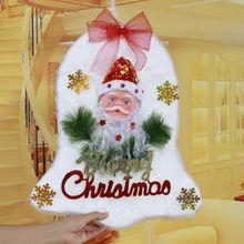 Venta al por mayor decoraciones, iglesia / puerta / ventana / colgante de pared, algodón blanco campana campana colgante