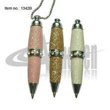 Popular Mini and novelty design key ring Mini Crystal Pen