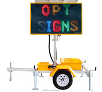 2015-001 VMS-COLOR New Solar Power Mobile Led Color Advertising/Traffic Variable Dynamic Message Sign Trailers