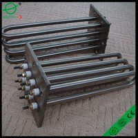 seamless stainless steel tube flange immersion heater