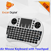 2.4g Wireless QWERTY Keyboard Remote Controller, Air Mouse Keyboard for Smart TV