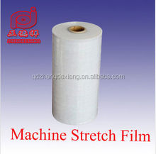 lldpe machine grade stretch film for wrapping pallets or cartons