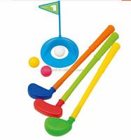 Bright color plastic children golf club