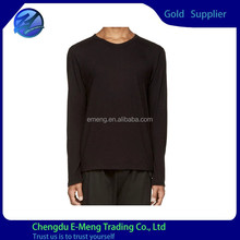 New Classic Men Long Sleeve Slim Fit Plain T-shirt Made in China