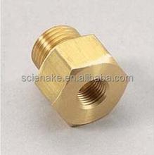 cnc machining process Brass rod end