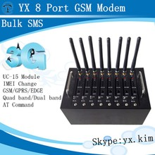 3g sim card module with quad band/dual band, multi sim modem 3g with imei change, gsm modem dual sim card