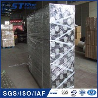 stainless steel supporting cage,bag filter cage dia115mm
