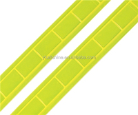 High gloss reflective pvc tape for safety wear