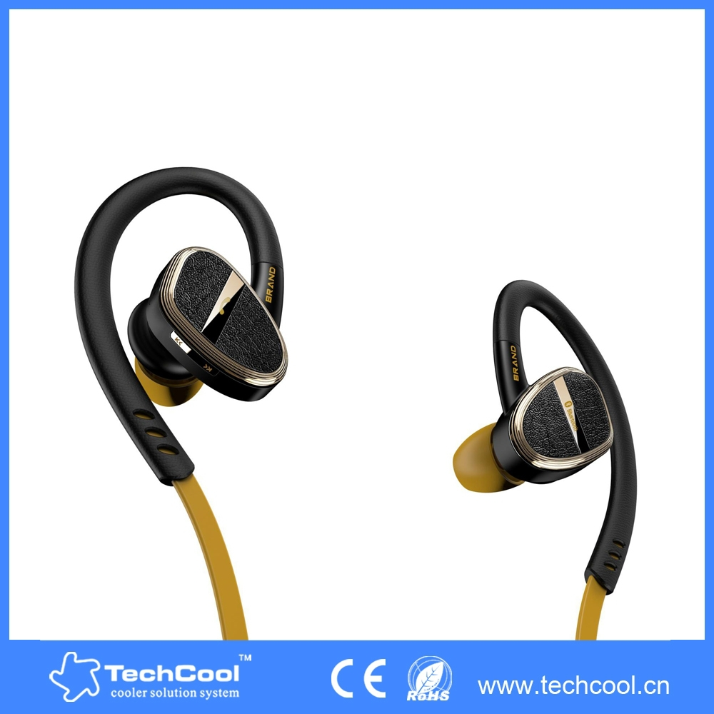 green in ear bluetooth earbuds ear hook earphone with built in microphone for. Black Bedroom Furniture Sets. Home Design Ideas