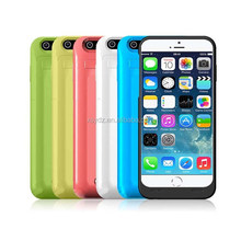 Colorful 3000mAh External Battery Backup for iphone5,3000mah Power Bank Charger Case For iPhone 5 5s 5c,power case for iphone
