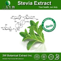 Botanical Extract Stevia/Stevia Water Extraction Bulk Stevia Powder Rebaudioside A 98%