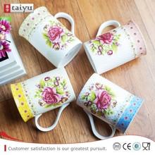 Super Environmental cream colored coffee mug
