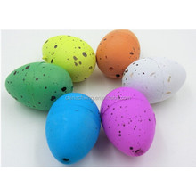Plastic Animal education Easter eggs toys for Easter gift for sale with factory price
