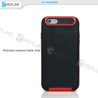 OEM design accepted factory cheapest price for iphone 6s pc and tpu combo phone case