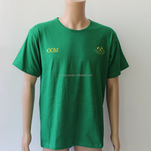 wholesale custom election campaign t shirt with embroidered logo china factory