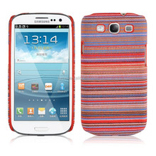 Knit + Hard PC Back Case Cover For Samsung Galaxy S3