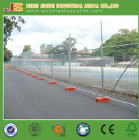 Road size temporary fence panel/ High quality welded mesh fence panel